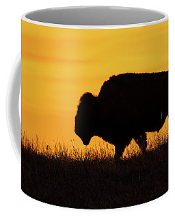 Sunrise Bison Coffee Mug