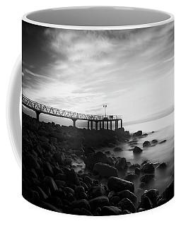 Sunrise In Black And White Coffee Mug
