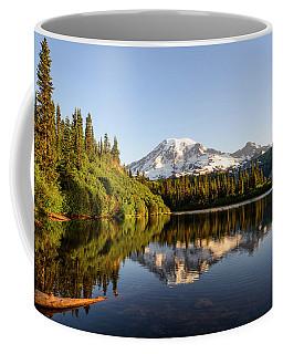 Sunrise In Mt Rainier  Coffee Mug