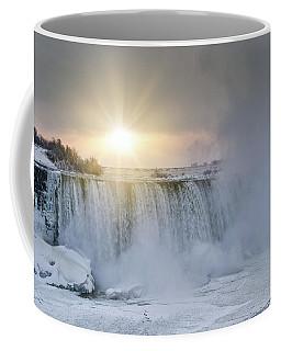 Sunrise In Niagara Falls Coffee Mug