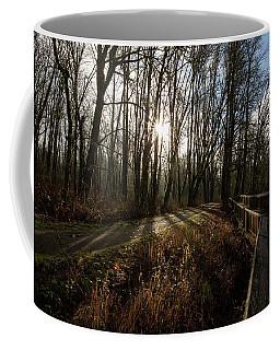 Sunrise On The Boardwalk Coffee Mug