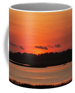 Sunrise Over Drunken Jack Island Coffee Mug