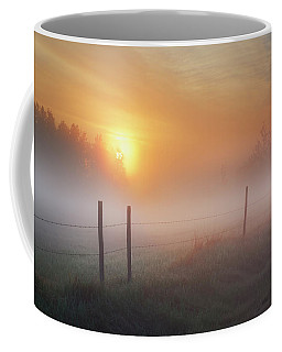 Sunrise Over Morning Pasture Coffee Mug
