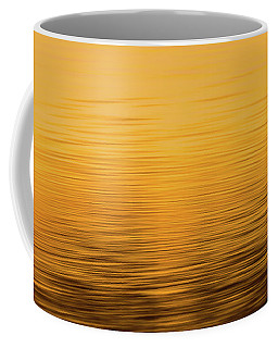 Coffee Mug featuring the photograph Sunrise Reflections Abstract by Dan Sproul