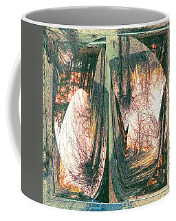 Coffee Mug featuring the digital art Sunset Abstract by Robert G Kernodle