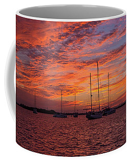 Coffee Mug featuring the photograph Sunset Across The Keys by Mark Duehmig