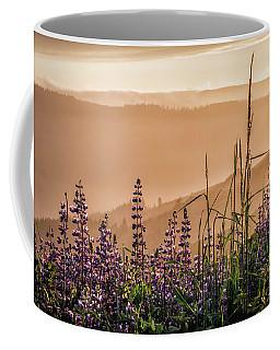 Sunset Among The Lupine Coffee Mug