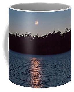 Sunset And Moonrise Coffee Mug