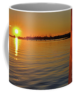 Sunset And Old Watermill Coffee Mug