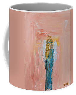 Sunset Angel Coffee Mug