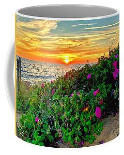 Sunset At Campground Beach  Coffee Mug