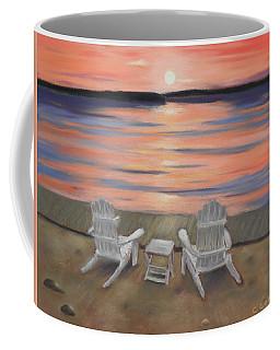 Sunset At Mairs Coffee Mug