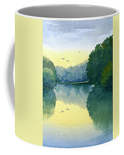 Sunset At Memorial Park Coffee Mug