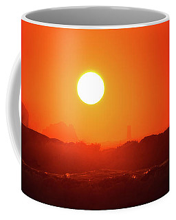Sunset At Pointe Du Raz Coffee Mug