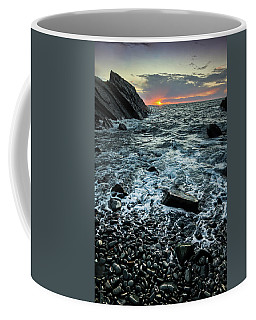 Sunset At Quarry Bay, Port Logan Coffee Mug