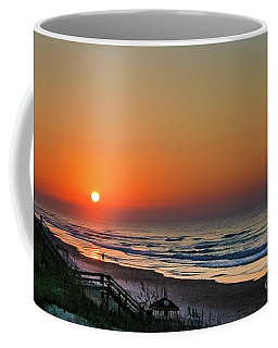 Sunset At Surf City Nc Coffee Mug