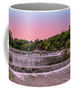 Sunset At The Falls Coffee Mug
