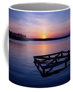 Sunset At The Reservoir  Coffee Mug