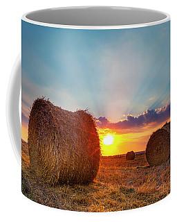 Sunset Bales Coffee Mug