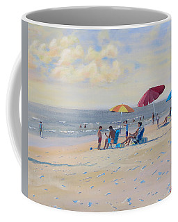 Sunset Beach Observers Coffee Mug