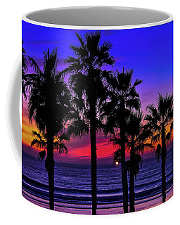 Sunset From The Ocean Park Inn Coffee Mug