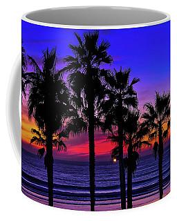 Coffee Mug featuring the photograph Sunset From The Ocean Park Inn by Robert Bellomy