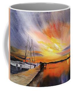 Sunset Harbor Coffee Mug