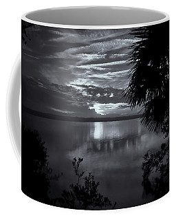 Sunset In Black And White Coffee Mug