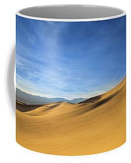 Sunset In Mesquite Dunes Coffee Mug