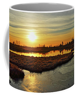 Sunset In Pitt Meadows Coffee Mug