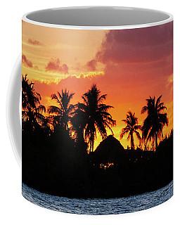 Sunset In The Florida Keys Coffee Mug