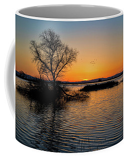 Sunset In The Refuge Coffee Mug