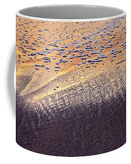Coffee Mug featuring the photograph Sunset In The Sand by Whitney Goodey