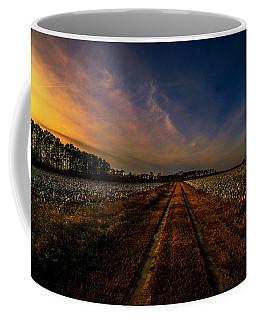 Sunset In The Twin Fields Coffee Mug