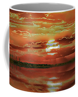 Coffee Mug featuring the photograph Sunset Lake by Bill Swartwout Fine Art Photography