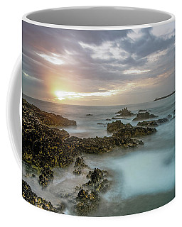 Coffee Mug featuring the photograph Sunset Matosinhos by Bruno Rosa
