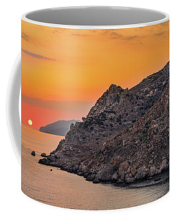 Sunset Near Cape Tainaron Coffee Mug