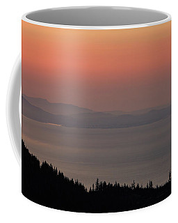 Sunset Of The Olympic Mountains Coffee Mug