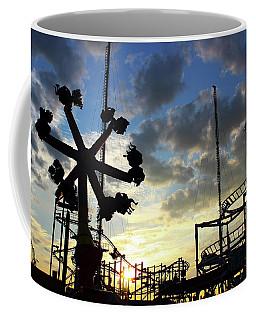 Sunset On Coney Island Coffee Mug