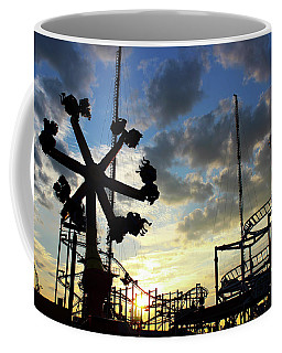 Sunset On Coney Island Coffee Mug