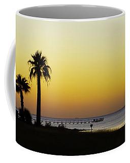 Sunset On Copano Bay, Texas Coffee Mug