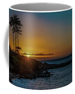 Sunset On Kapalua Coffee Mug