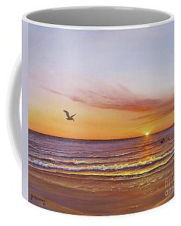 Sunset On The Gulf Coffee Mug