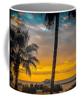 Sunset On The Island Coffee Mug