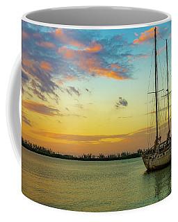 Sunset On The Lagoon Coffee Mug