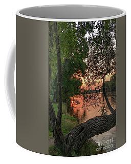 Sunset On The Mississippi Coffee Mug