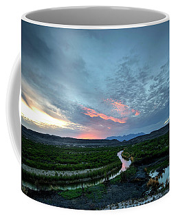 Sunset On The Rio Grande Coffee Mug