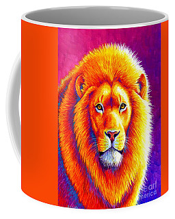 Sunset On The Savanna - African Lion Coffee Mug