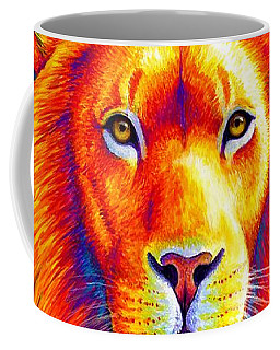 Sunset On The Savanna - African Lion Coffee Mug