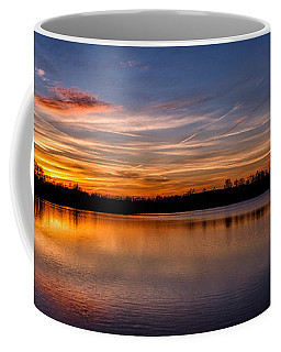 Sunset Over Laupheim Quarry Coffee Mug